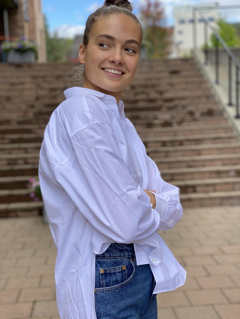 White Kim Shirt Skjorte | Tom Wood | Skjorter | Miinto.no